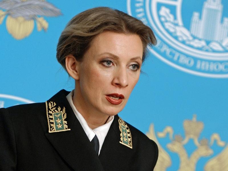 Захарова: Россия примет меры в ответ на арест своей дипсобственности в США